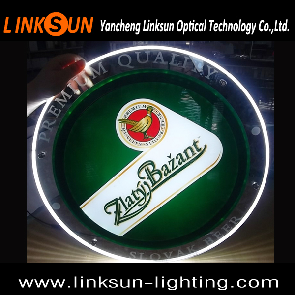 hot sell Aluminum frame acrylic vacuum outdoor led advertising crystal lighting box