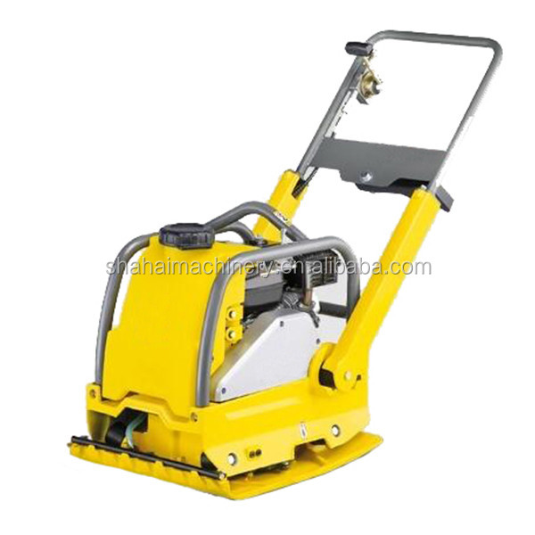 China hot-sale model vibratory plate compactor/5.5HP plate compactor rubber mat optional