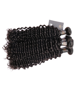 4 Bundles Indian natural curly hair weave Sunlight Human Hair