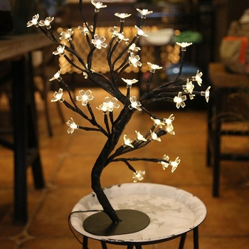 Top Sale Christmas Holiday Warm White 48Led blossom tree