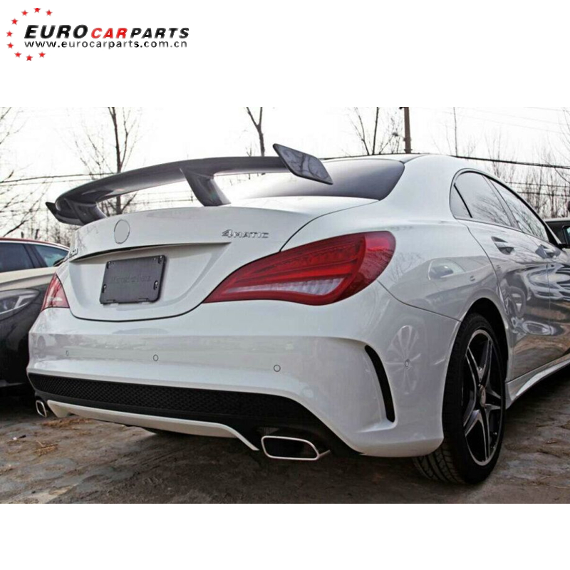 <strong>W117</strong> spoiler fit for CLA-class <strong>W117</strong> CLA250 CLA260 sport CLA45 to RZ style carbon fiber trunk spoiler 14-16year cla45 rear wing