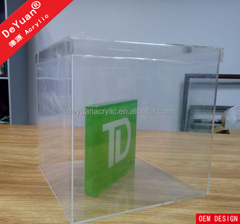 Clear Acrylic Candy Box For Storage