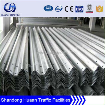 Q235, galvanized guard railing W beam / highway guard rail price