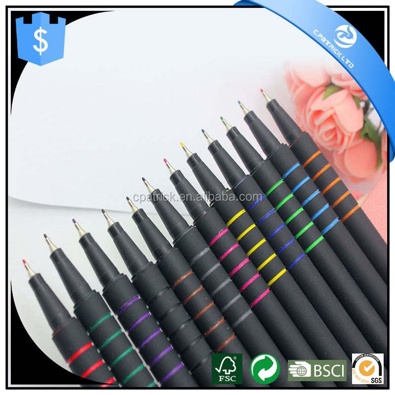 0.4mm fine tip Color Paint Marker Pen with Water based Ink