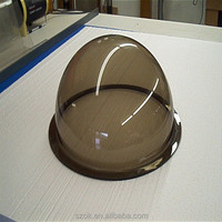 Hemisphere cheap clear acrylic dome cover for hot sale