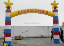 Fireworks Corporate Advertising Inflatables, Sale to USA Inflatable Arch