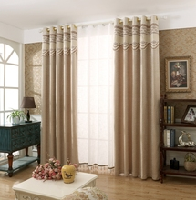 Good quality african design jacquard blackout curtains