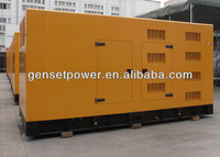 Water Cooled Soundproof Diesel Genset 625kva Standby with Cummins engine