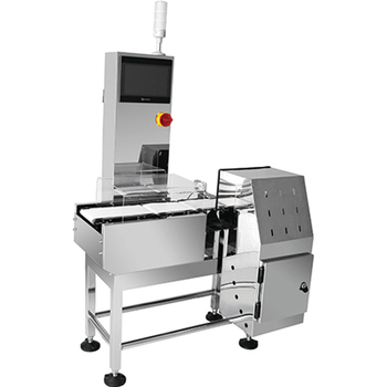 Highly Versatile Checkweigher Solutions in Motion Weighing Online Checkweigher Conveyor weight check