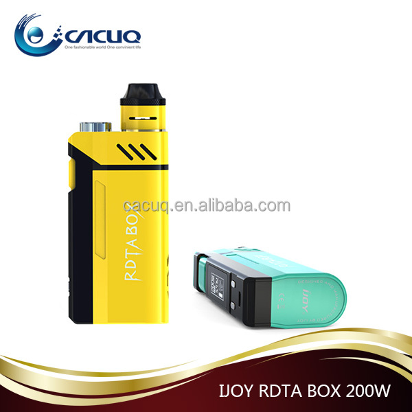 Authentic IJOY RDTA BOX 200W starter kit from CACUQ Mia