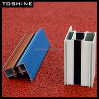 high quality competitive price 6063 t5 Anodized, Polised, powder coating, wood color Aluminum alloy profile manufacturers