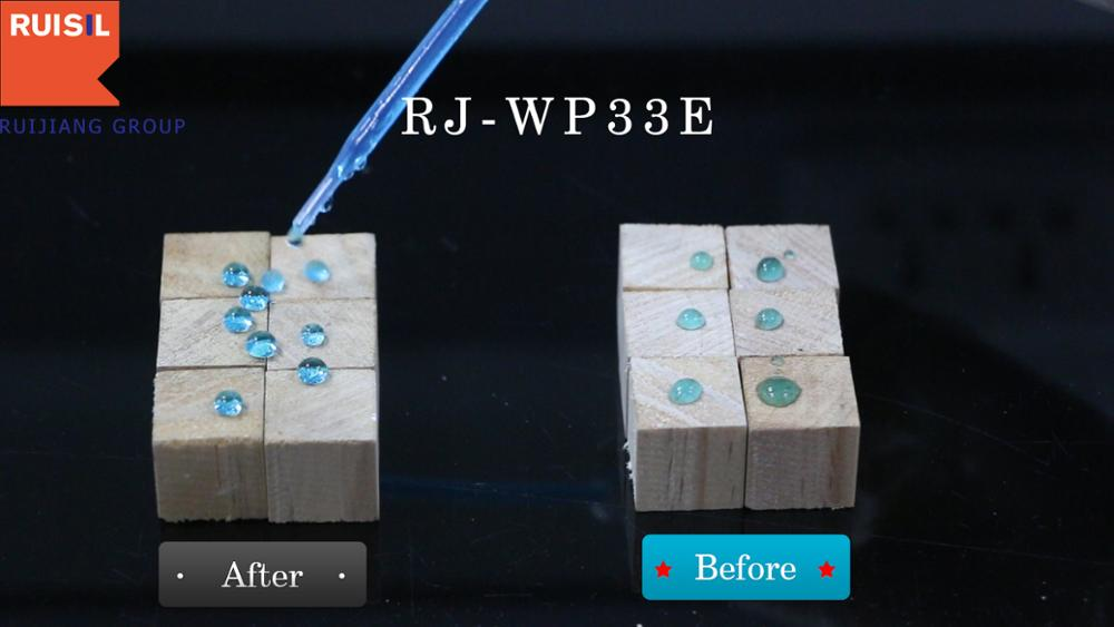 RJ-WP33E Excellent waterproof effect for wood products Two Component Wood Water Repellent
