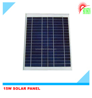 Taiwan cell 15 watt monocrystalline solar panel