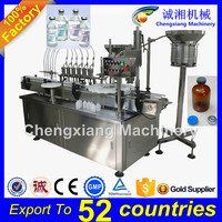 PLC controlled Automatic pharmaceutical syrup filling machine,injection vial filling machine