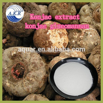 Hot Selling Best Quality Konjac Extract Powder Weight Loss Glucomannan 90% 95%