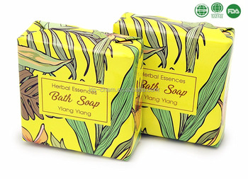 Essential oil body care skin care herbal perfumed bath soap bath gift set
