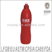 Top quality plastic sports water bottle in different colors