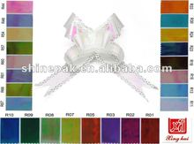 Iridescent have lace butterfly bow