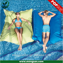 cool transformable floating swim beds outdoor floating bean bags
