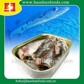 Canned Sardin in oil 125g
