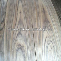 Crown Cut Natural Africa Teak Wood Veneer