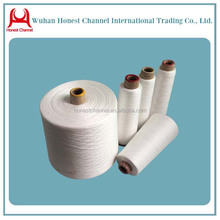 quality 20/2 100% polyester spun yarn for sewing thread plastic cones for sewing bags or coats
