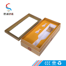 Custom high quality competitive price wine glass packaging gift box