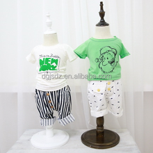 100% cotton t shirt normal frock designs printed organic t-shirts
