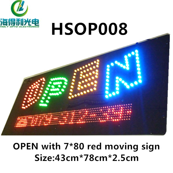 waterproof led open sign,promotional items,neon open sign