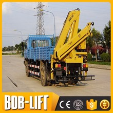 Hot sale truck mounted crane 3 ton used mobile cranes dubai