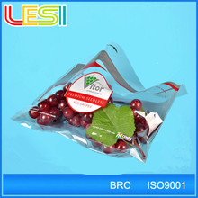 High quality plastic grape protection bags with punch holes on wicket