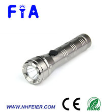 Factory attractive design AAA battery operated portable LED camping flashlight with high power