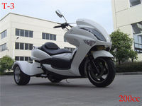 3 wheels 200cc electric motorcycle atv for adult
