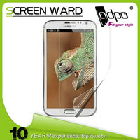 best quality anti-dust 3-5h hardness screen protector for samsung galaxy note 2