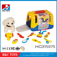Best products lovely pet small dog house plastic toy for kids HC315975