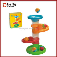 Plastic educational baby rolling balls toy