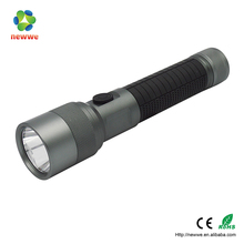 3W 1 LED Big Torch, Induction - Type Button Flashlight ,High Brightness 150LM AL Torch With Round Hole sensor led torch