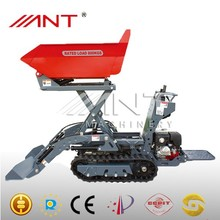 BY800 farm tractor crawler loader with backhoe attachment