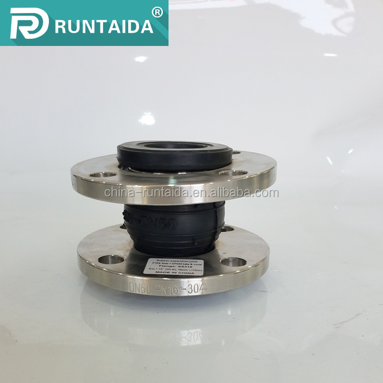 DN100 connection flexible rubber joint