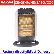 1200W 1600W Electric portable oscillating heating with protection grill
