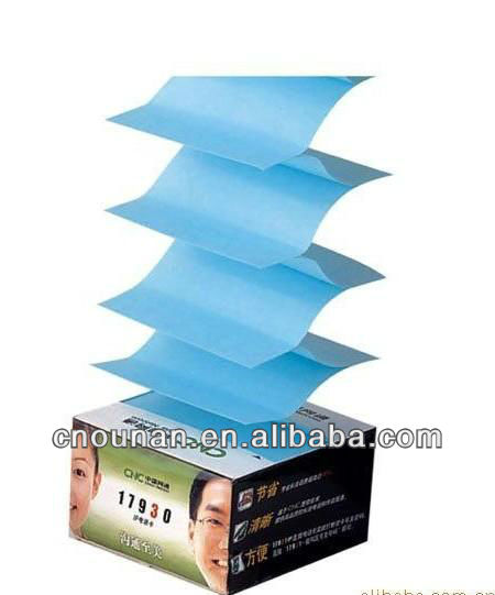customized Z sticky box note dispenser adhesive notes