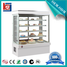 With Defogging Glass 5 Layer Upright Cake Display Cooler