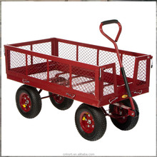 Trolley Garden Bed-Flatbed Trolley- Truck with Fold Down Sides
