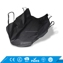 Black Removable Waterproof Oxford Polyester Nonslip Backing Hammock Dog Pet Car Seat Cover