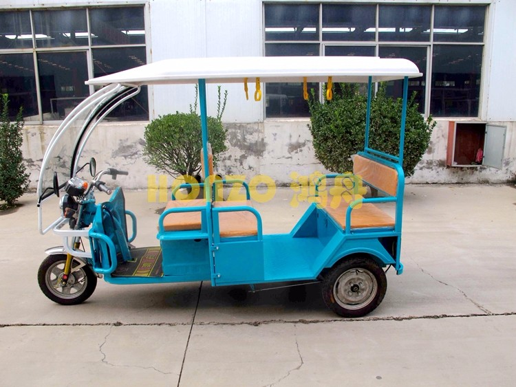 China made tricycle electric trike battery operated passenger auto rickshaw