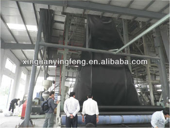 three layer HDPE geomembrane machine for 7- 8 meter
