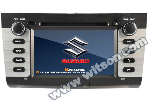 WITSON double din car dvd for SUZUKI SWIFT
