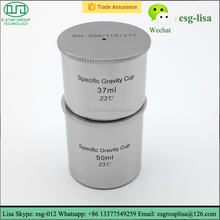 Stainless Steel Specific Gravity Measurement Density Cup