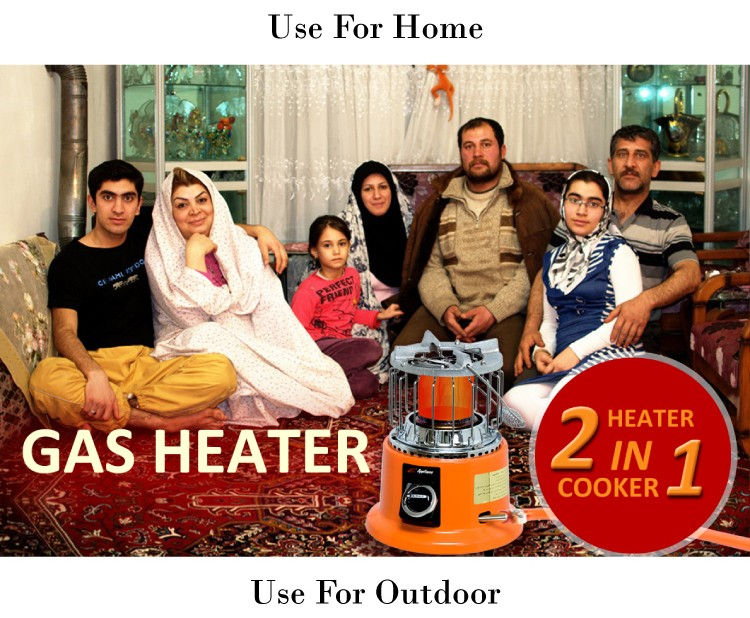 APG 2018 Portable Home Gas Space Heater