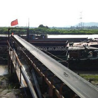 4 ply fabric ep polyester piles rubber conveyor belt for quarry used
